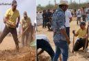 हाथ में हल पकड़ मजदूरों की तरह खुदाई करते नज़र आए आमिर खान, जाने क्यों?