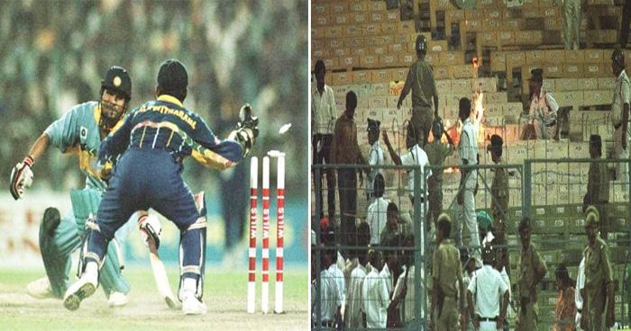 Photo of Flashback: भारत को हारता देख दर्शकों ने स्टैडियम में लगाई आग, मैदान पर ही रोने लगे थे कांबली