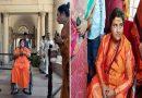 व्हील चेयर पर बैठ दिल्ली संसद में शिरकत करती नज़र आई साध्वी प्रज्ञा ठाकुर, देखे तस्वीरें
