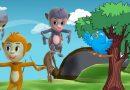 चिड़िया और मूर्ख बंदरों की कहानी, जो इस बात की सीख देती है कि मूर्ख लोगों की मदद करने से बचें