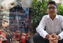 14 साल के बच्चे ने जलती इमारत की तीसरी मंजिल से लगाई छलांग, फिर भी नहीं आई कोई चोट
