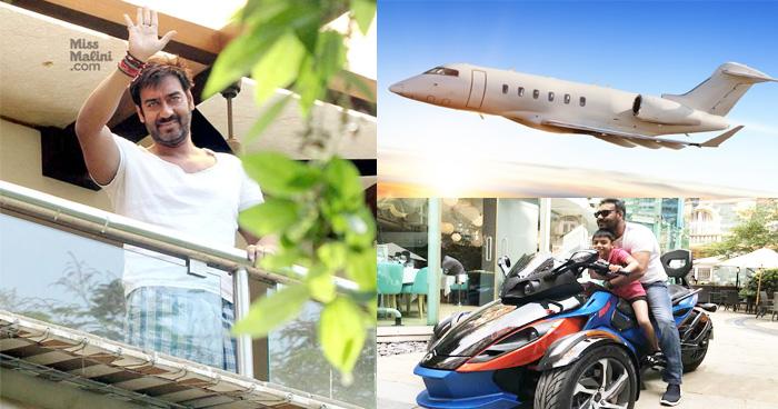 बेहद महंगे शौक रखते हैं अजय देवगन, इनकी 4 सबसे महंगी चीजों से बस सकता है एक पूरा गांव