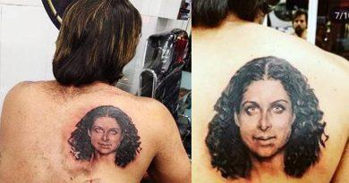 इस टीवी एक्टर ने पीठ पर बनवाया पत्नी का चेहरा, इतने घंटे की तपस्या के बाद तैयार हुआ टैटू