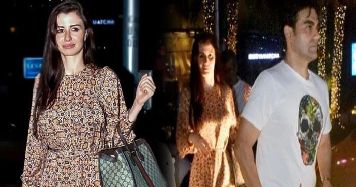 Photo of गर्लफ्रेंड संग देर रात डिनर डेट पर निकले अरबाज खान, फोटोग्राफर्स को देख करने लगे ये काम