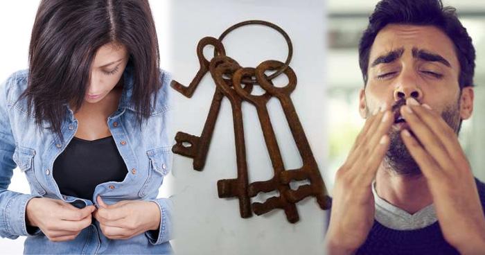 कपड़े पहनते समय बटन टूटना और चाबी में जंग का लगना देता हैं ये संकेत