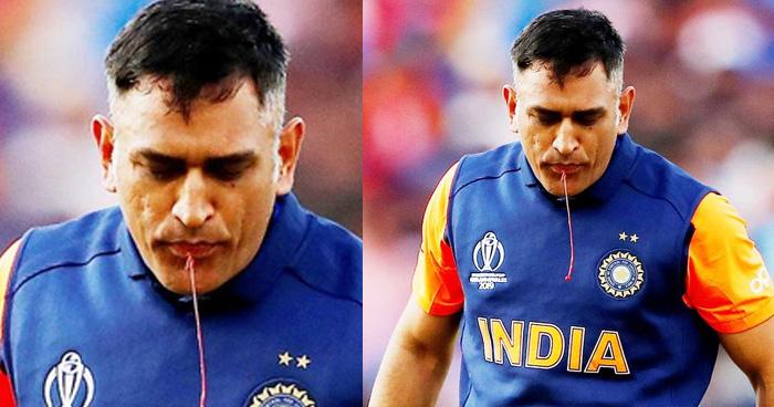 Photo of खुलासा: चोट लगने के बावजूद मैदान में डटे रहे थे धोनी, मुंह से निकला था खून, तस्वीर ने खोले राज
