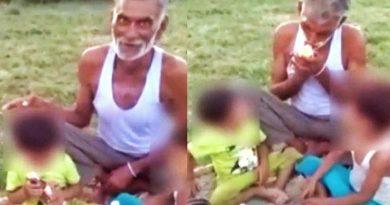 'A फॉर अल्कोहल, B फॉर बीड़ी' बोल बच्चो को ड्रिंकिंग और स्मोकिंग सिखा रहे दादा, Video वायरल