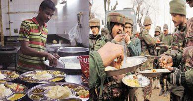 अपने एक सैनिक पर प्रतिदिन भोजन पर इतना खर्च करती है इंडियन आर्मी, जानिए दिलचस्प खबर