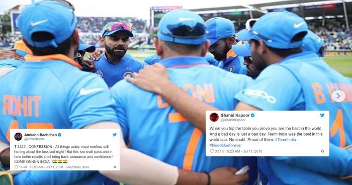 Photo of सेमी फाइनल हारने के बावजूद टीम इंडिया ने जीती ये बाजी, सितारों ने कहा- हमें तुम पर गर्व है