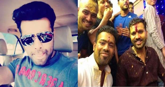 Photo of मिलिए भारतीय क्रिकेटर रोहित शर्मा के छोटे भाई और भाभी से, तस्वीरों में देखिए दिलकश अंदाज