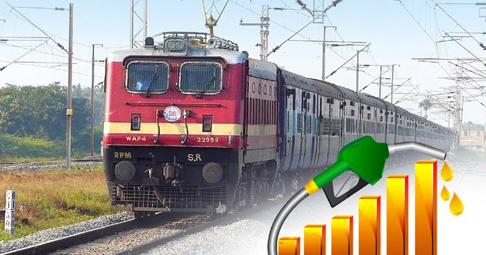 1 किलोमीटर चलने के लिए ट्रेन को कितना डीजल चाहिए? जवाब सुनते ही उड़ जाएंगे आपके होश