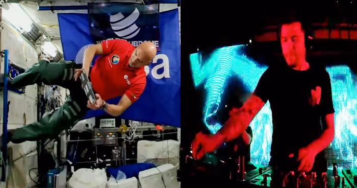 पहली बार अंतरिक्ष में हुआ लाइव DJ डांस, तेज़ी से वायरल हुआ वीडियो