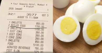 होटल ने 2 अंडों के लिए वसूले 17,00 रुपए, यूजर ने कमेंट कर लिखा 'मुर्गी किसी अमीर घर की होगी'