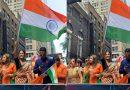 हिना खान ने न्यूयॉर्क में 'इंडिया डे परेड' में इस अंदाज में लहराया तिरंगा, तस्वीरें हुई वायरल
