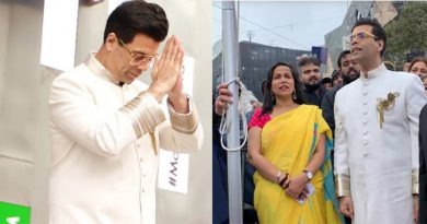 विदेशी धरती पर करण जौहर ने फहराया झंडा, कहा- 'हम सभी के दिल की धड़कन है भारत'