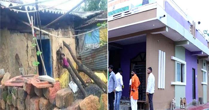 Photo of झोपड़ी में रहने वाले शहीद के परिवार की सरकार से नही की मदद, गांव वालों ने चंदे से बनाया 'महल'
