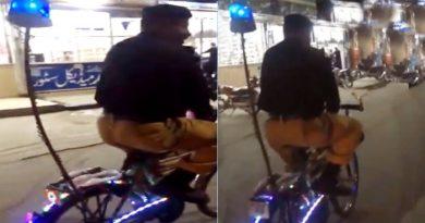 Video: साईकिल पर गश्त लगाता दिखा पाकिस्तानी जवान, लोग बोले 'आर्मी के लिए पेट्रोल बचा रहे हैं'