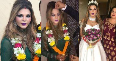 कुछ दिनों पहले राखी सावंत ने की थी चोरी-छिपे शादी, अब वायरल हो रही हैं शादी की अनदेखी तस्वीरें