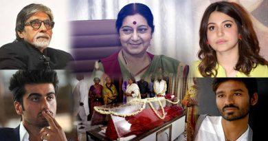 सुषमा स्वराज के निधन से शोक में डूबा बॉलीवुड, अमिताभ से लेकर अनुष्का तक ने कही ये बात