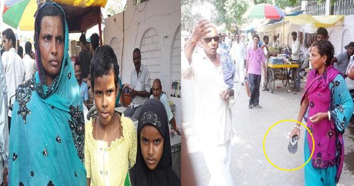 Photo of तीन तलाक पीड़िता ने पकड़ा ससुर का कॉलर, चप्पल मारकर पूछा, 'बता कहां है तेरा बेटा'