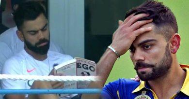 बीच मैच में विराट कोहली के किताब पढ़ने पर मचा बवाल, फैंस ने लगाई जमकर क्लास