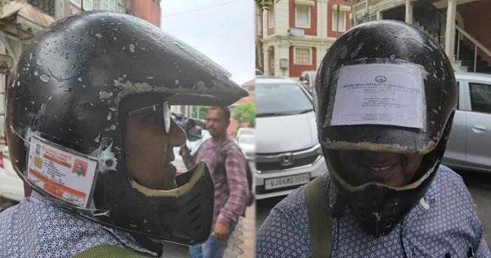 Photo of भारी चालान से बचने के लिए इस शख्स ने अपनाया ऐसा तरीका कि पुलिस भी करने लगी तारीफ़