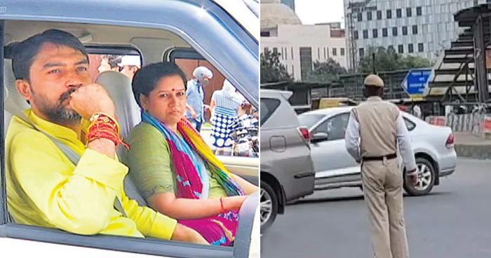 केंद्रीय मंत्री अश्विनी चौबे की गाड़ी का नहीं काटा चालान, 3 पुलिसकर्मी निलंबित