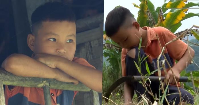 माता-पिता के स्वर्गवास के बाद घर में अकेला रहता हैं 10 साल का बच्चा, खेती कर भरता हैं पेट