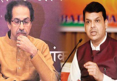महाराष्ट्र की सियासी जंग का सबसे बड़ा उलटफेर, शिवसेना का सपना टूटा, फडणवीस दोबारा बने CM