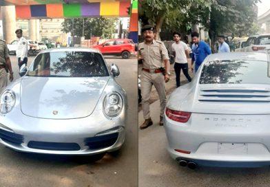 इस खुबसूरत कार का कटा 9.8 लाख रुपए का चालान, जाने क्या थी चालक की गलती