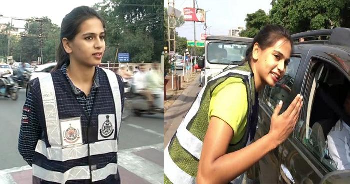 Video: सड़क डांस कर लोगो को ट्रैफिक नियम समझा रही ये लड़की, इनका अंदाज़ देख आप भी करेंगे तारीफ़
