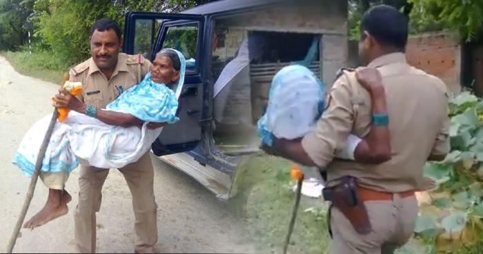 Photo of रास्ता भटक चुकी 80 साल की महिला ने पुलिस वाले से मांगी मदद और पुलिस वाले ने जो किया वो ग़ज़ब है