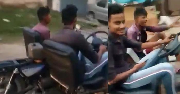 Photo of Video: लड़के ने पुरानी बाइक को कार में बदल डाला, पब्लिक बोली 'व्हाट एन आईडिया सरजी'