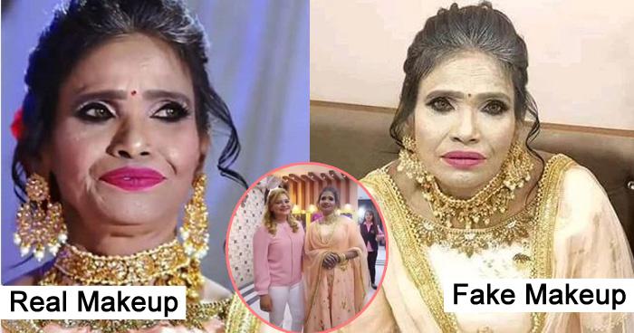 Photo of फेक थी रानू मंडल की हैवी मेकअप वाली तस्वीरें, मेकअप आर्टिस्ट ने विडियो शेयर कर दिया करारा जवाब