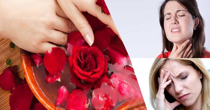 गुलाब की पंखुड़ियों के फायदे