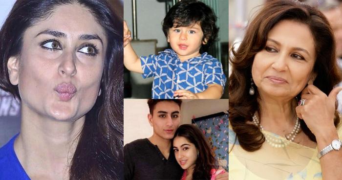 तैमुर और सारा में कौन हैं आँखों का तारा, शर्मीला टैगोर से करीना ने पूछा यह सवाल तो मिला जवाब