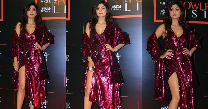 Photo of Pics: फैशन इवेंट में कहर ढाती नजर आयीं 44 की शिल्पा, हाई स्लिट ड्रेस में फलॉन्ट की हॉट लेग्स