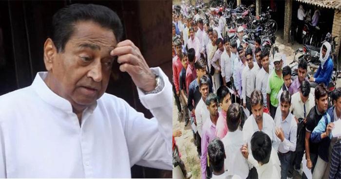 सिर्फ एक वर्ष की कांग्रेस सरकार में मध्यप्रदेश में बेरोजगारों की संख्या 7 लाख बढ़ कर 28 लाख पहुंची