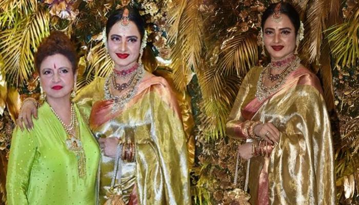 Photo of खूबसूरती में रेखा को टक्कर देती हैं उनकी छोटी बहन, बॉलीवुड की चकाचौंध से दूर करती हैं ये काम