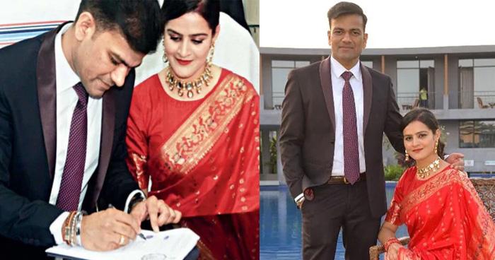 Photo of शादी के लिए नहीं मिल रहा था इस IAS ऑफिसर को समय, फिर इस तरह बनाया IPS पार्टनर को दुल्हन