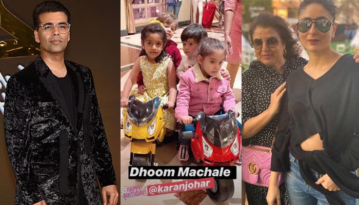 Photo of Pics: करण जोहर ने मनाया रूही और यश का जन्मदिन, करीना-आलिया ने मचाया बच्चों संग धमाल