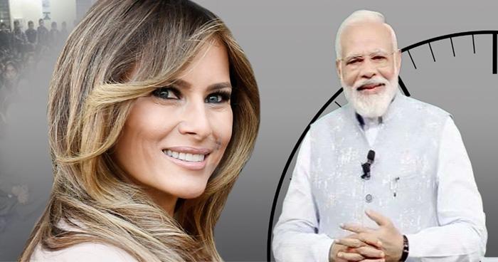 भारत यात्रा के लिए ट्रम्प की पत्नी मेलानिया ट्रम्प 'अति उत्साहित', 'पीएम मोदी' को कहा धन्यवाद