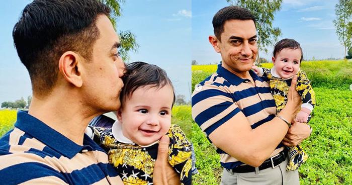 Photo of इस मशहूर सिंगर के बेटे को दुलारते नजर आए आमिर खान, इंटरनेट पर वायरल हुई क्यूट तस्वीरें – देखिए