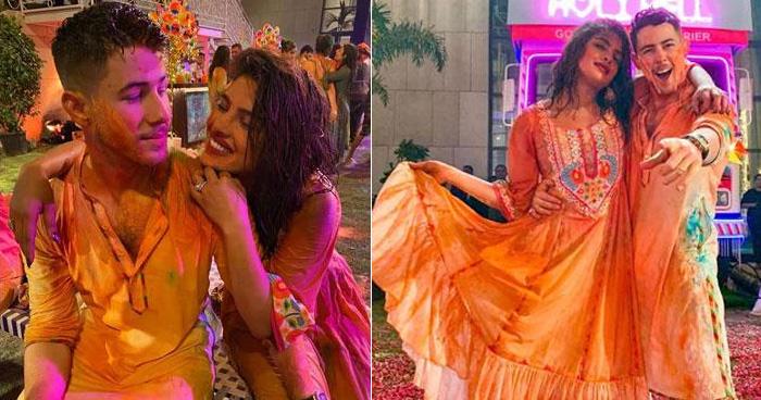 Photo of प्रियंका चोपड़ा और निक जोनास ने होली पार्टी में लिया भांग का मजा, सोशल मीडिया पर वीडियो वायरल
