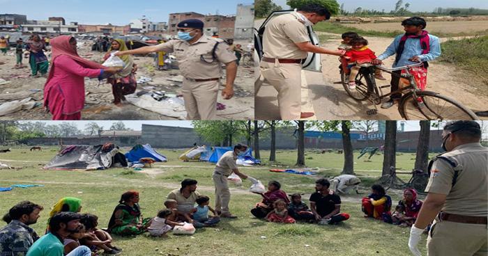 Photo of लॉकडाउन में ड्यूटी के साथ-साथ गरीबों का पेट भी भर रही उत्तराखंड पुलिस, देखे फोटोज और विडियोज