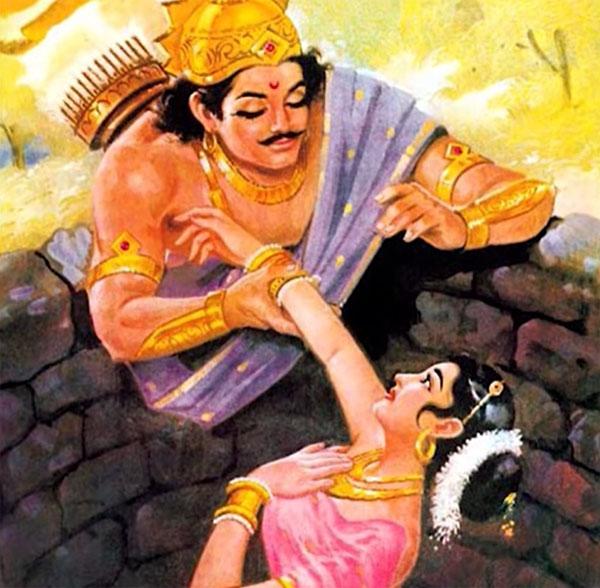 Story of Devayani, Yayati, Sharmishtha, Puru