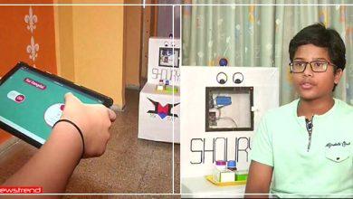 Photo of डॉक्टर्स कोरोना संक्रमण से बचे रहे, इसलिए 7वीं क्लास के बच्चे ने बनाया दबाई देने वाला रोबोट