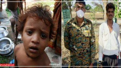 Photo of चोरी करता पकड़ा गया मजदूर, रोते हुए बोला- 'बच्चे भूखे थे, क्या करता..' फिर पुलिस ने ऐसे की मदद