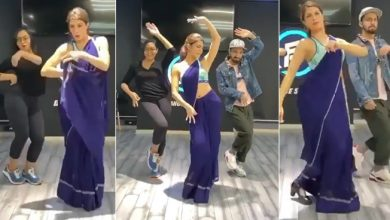 Photo of ब्लू साड़ी में जैकलीन फर्नांडिस का कातिलाना अंदाज, सोशल मीडिया पर डांस Video हुआ वायरल