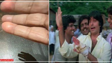 Photo of जब अमिताभ बच्चन के हाथ में अचानक से फट गया था बम, फिर घायल हाथों से पर्दे पर ..